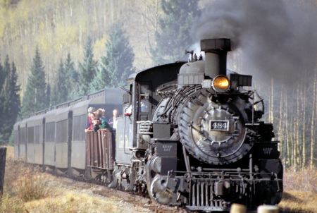 The Cumbres & Toltec Scenic Railroad in the United States