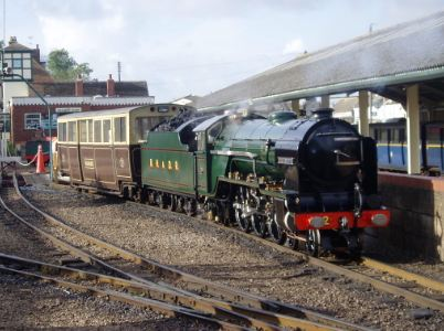 The Romney, Hythe and Dymchurch Railway Kent, England