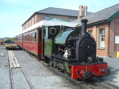 The Talyllyn Railway in Wales, U.K
